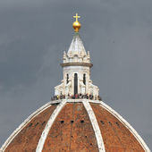 Dome of cathedral — Stock Photo