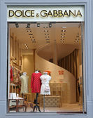 Dolce & Gabbana boutique in Florence — Stock Photo