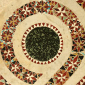 Ancient  marble inlay mosaic — Stock Photo