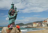 Statue  of  Santa Maria a Mare — Stock Photo