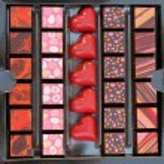 Decorated chocolates — Stock Photo #47304865
