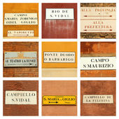 Venetian collage  — Stock Photo