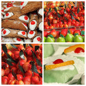 Sicilian sweets — Stock Photo