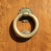 Classic vintage door knocker — Stock Photo