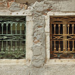 Two old windows — Stock Photo #47751699
