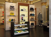 FENDI boutique — Foto Stock