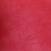 Red leather — Stock Photo