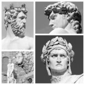 Florentine sculptures — Stockfoto