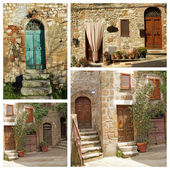 Tuscan lifestyles — Stock Photo