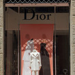 Dior boutique in Florence — Stock Photo #50373015