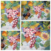 Harvest impression collage — Stock Photo