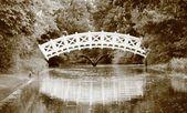 White bridge — Stock Photo