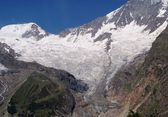 Saas Fee Glacier — Stock Photo
