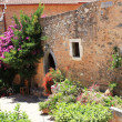 Mediterranean Monastery Garden — Stock Photo