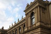 Ornate building facade — Stock Photo
