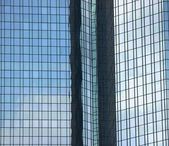 Glass wall of skyscraper — Stock Photo