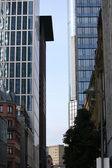 Skyscrapers in Frankfurt Main — Stock Photo