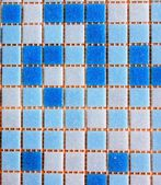 Mosaic blue — Stock Photo