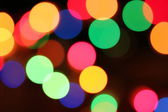 Colorful light dots — Stock Photo