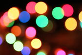 Colorful light dots — Photo