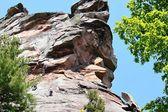 Climbing Rocks — Stock Photo