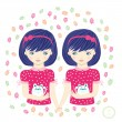 Horoscope. Zodiac signs-Gemini. - Stock Photo