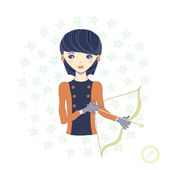 Horoscope. Zodiac signs-Sagittarius. — Stock Photo