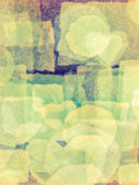 Abstract background hand made a collage. — Stockfoto