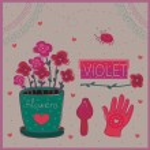 Violet — Stock Vector #30647389