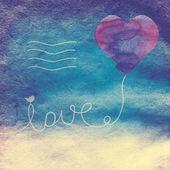 Love letter — Zdjęcie stockowe