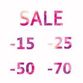 Sale — Vettoriale Stock