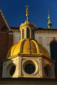 Sigismund's Chapel of the Wawel Cathedral in Cracow, Poland — Stock Photo