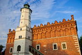 Renaissance city hall in Sandomierz, Poland — Stok fotoğraf