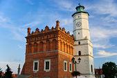 City hall in Sandomierz, Poland — Stock Photo