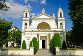 St. Anne's Church in Wilanow, Warsaw, Poland — Stock Photo