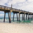 Royalty-Free Stock Photo: Pensacola Beach Fishing Pier, Florida