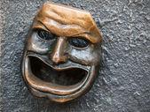 Theatre mask — Stock Photo
