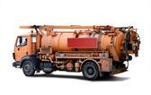 Pipeline incpection truck — Stockfoto