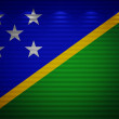 Stock Photo: Solomon Islands flag wall, abstract background