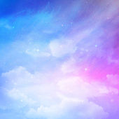 Renkli gökyüzü bulutlu — Stok fotoğraf