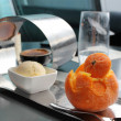 Stock Photo: Orange sorbet
