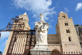 Cathedral of Cefalù — Stock Photo