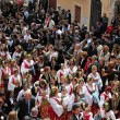 Stock Photo: Easter parade in Sicilitown with Albanitraditions. Piandegli Albanesi, near Palermo, Italy