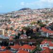 The view of  Funchal, Madeira island — Stock Photo