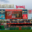 Nationals Park Scoreboard — Stock Photo #13175645