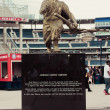 Josh Gibson Statue at Nationals Park — Stock Photo