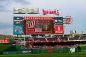 Nationals Park Scoreboard — Stock Photo