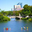 Kayaking on Charles River Boston, MA — Stock Photo #13380609