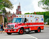 District of Columbia Rescue Truck — Stock Photo