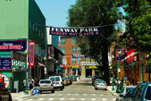 Yawkey Way, Boston, MA. — Stock Photo